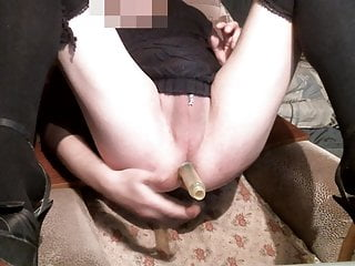 Sexy Bitch Gaping Ass Hidden Clit