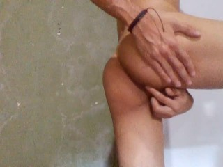 Brazilian Twink Fingering His Ass On Cam