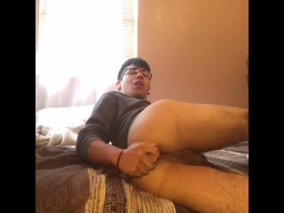 Latin Teen Playing With His Cock And Ass