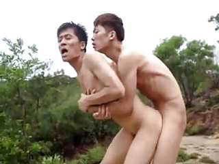 Hot Chinese Gay Outdoor Sex